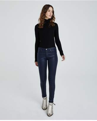 AG Jeans The Legging Ankle - Leatherette Lt Deep Trenches