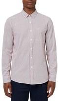 Topman Men's Slim Fit Print Shirt