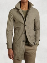 John Varvatos 3/4 Length Modern Trench