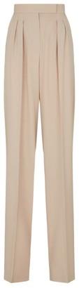 Max Mara Wool Straight-Leg Trousers