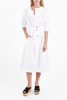 Isabel Marant Linen Long Trench Dress