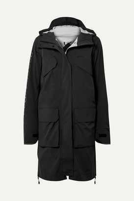 Canada Goose Seaboard Hooded Shell Jacket - Black