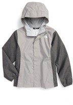 The North Face Girl's 'Resolve' Reflective Waterproof Jacket