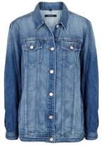 J Brand Cyra Oversized Denim Jacket