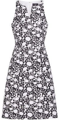 Adrianna Papell Floral Jacquard Fit and Flare