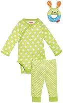 Skip Hop Pop Prints 3-Piece Gift Set (Baby) - Lime-3-6 Months