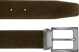 Moreschi Dallas - Dark Brown Suede Leather Belt