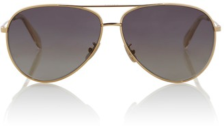 Celine Aviator sunglasses with leather pouch