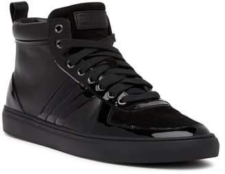 Bally Hervey High Top Leather Sneaker