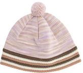 Missoni Striped Pom-Pom Beanie