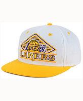 adidas Los Angeles Lakers White Diamond Snapback Cap