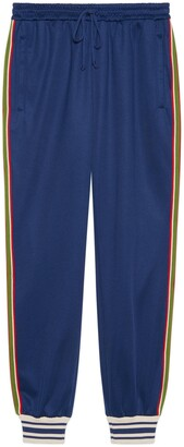 Gucci Technical jersey jogging bottoms