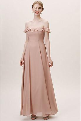 BHLDN Macau Dress By in Pink Size 16