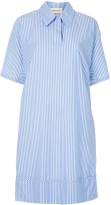 PortsPURE Pinstripe Shirt Dress