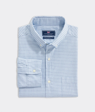Vineyard Vines Classic Fit Tattersall Pinpoint Oxford Murray Shirt