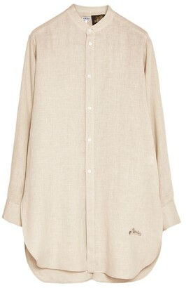 Loewe x Paula's Ibiza Mandarin Collar Shirt