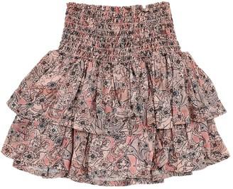 Princess Print Viscose Skirt