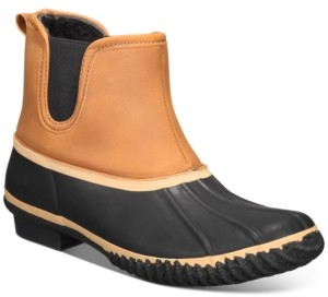 Style&Co. Style & Co Heidie Duck Booties, Created for Macy's Women's Shoes
