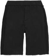 Chapter Cap Black Jersey Shorts