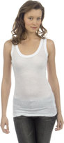 James Perse Weathered Tank in White