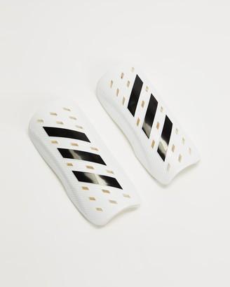 adidas Men's White Training Equipment - Tiro Club Shin Guards - Size M at The Iconic