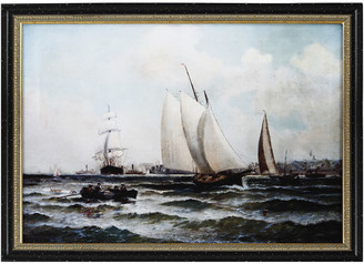 A&B Home New York Harbor Painting
