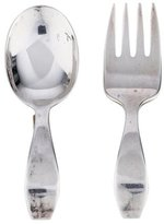 Tiffany & Co. Loop Baby Fork & Spoon Set