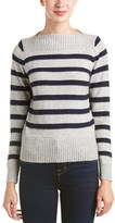 Fate Ribbed Trim Wool & Angora-blend Sweater.