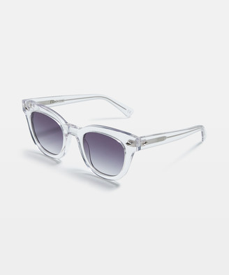Dylan Sunglasses Gloss Crystal