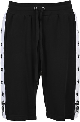 Dolce & Gabbana Star Stripe Shorts