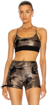 Koral Sweeper Sports Bra in Camo | FWRD