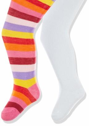 Playshoes Baby Girls' Ringel und Uni mit Komfortbund Tights