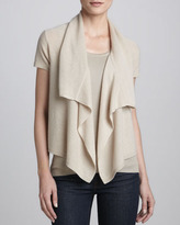 Magaschoni Cashmere Waterfall Cardigan