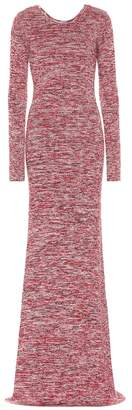 Bottega Veneta Knitted cotton maxi dress