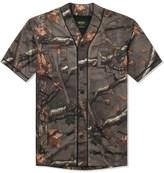 10.Deep Hunting Camo Alta Vista Baseball Jersey