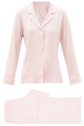 Derek Rose Lara Modal-blend Pyjamas - Pink