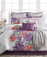 Sunham CLOSEOUT! Clover 14-Pc. Queen Comforter Set