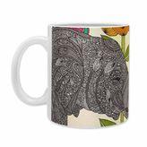 DENY Designs Valentina Ramos Aaron Ceramic Mugs in Grey (Set of 2)