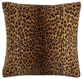 """Skyline Furniture Skyline 20"""" Square Feather Fill Throw Pillow, Cheetah Earth"""