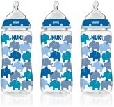 NUK 3-pk. 10-oz. Medium Flow Orthodontic Bottles
