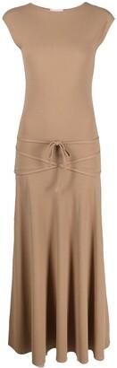 Lemaire Cap-Sleeve Jersey Dress