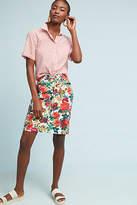 Maeve Denim Pencil Skirt