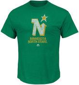 Majestic Men's Minnesota North Stars Vintage Hockey Legend T-shirt