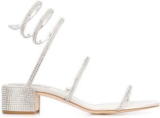 Rene Caovilla Cleo rhinestone-embellished sandals