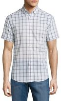 Vince Camuto Checked Button-Down Shirt