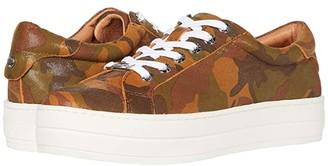 J/Slides Hippie (Tan Camo Leather) Women's Shoes