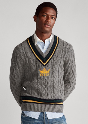 Ralph Lauren Embroidered Cricket Sweater