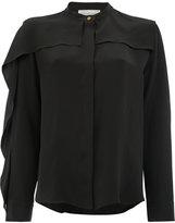 Maison Rabih Kayrouz frill detail shirt - women - Silk/Acetate - 40