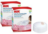 NUK Ultra Dry Disposable Nursing Pads, 50 Count (Pack of 2)