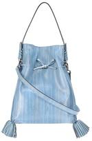 Altuzarra Ghianda Ete Large eel leather shoulder bag